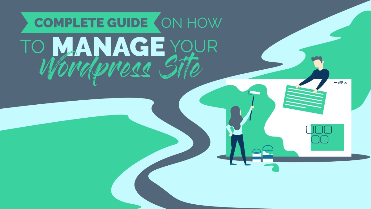 complete guide to manage wordpress site